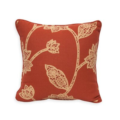 Mosaic Fleur Throw Pillow