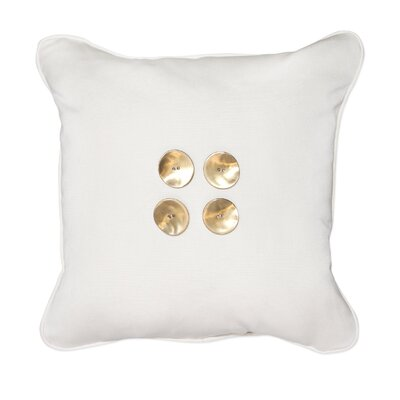 Button Throw Pillow