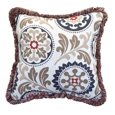 Province Fringe Throw Pillow