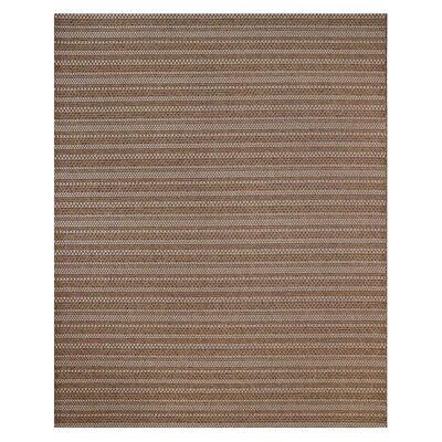 Jennings Chestnut Grain Indoor/Outdoor Area Rug Rug Size: Rectangle 53 x 75