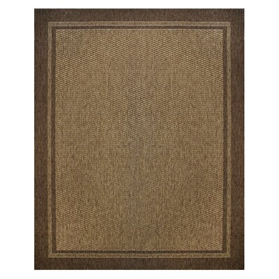 Amina Chestnut Indoor/Outdoor Area Rug