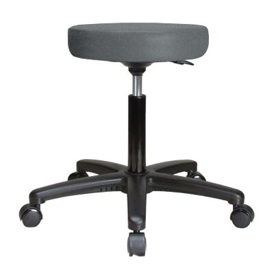 Perch Chairs and Stools Height Adjustable Swivel Stool - Color: Cinder