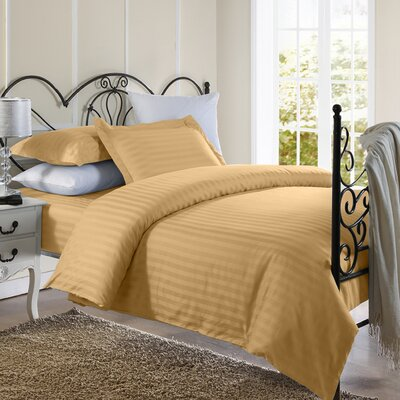 Cotton Duvet Set Color: Gold, Size: Twin