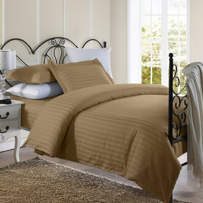 1800 Series Duvet Set Color: Taupe, Size: Twin