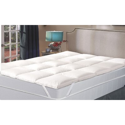Hypoallergenic 2 Down alternative Mattress Topper Size: Full