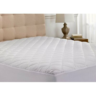 Over Filled Down Alternative Mattress Pad Topper Protector Size: King