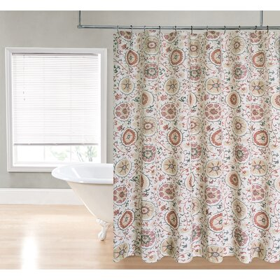 Suzzani Printed Fabric Shower Curtain