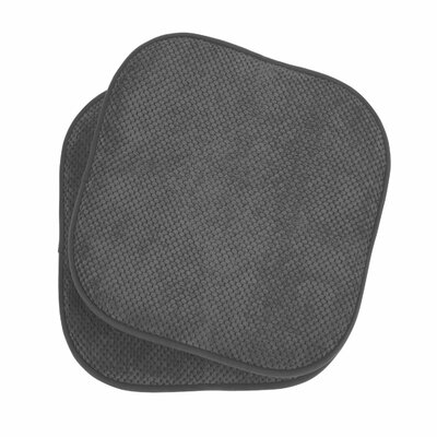 Memory Foam Dining Chair Cushion Color: Grey