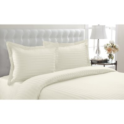 Altamont Cotton Duvet Set Color: Beige, SIze: Twin