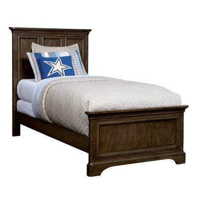 Chelsea Square Panel Bed Size: Twin, Color: Raisin
