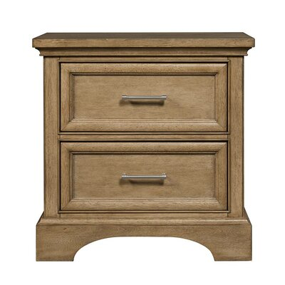 Chelsea Square 2 Drawer Nightstand