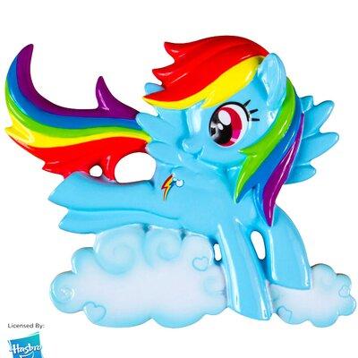 My Little Pony Rainbow Dash Ornament HBO03