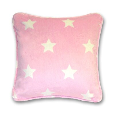 Gom Velboa Star Throw Pillow Color: Pink
