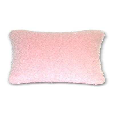 Polarain Gom Throw Pillow Color: Pink, Size: 13 H x 19 W x 4 D