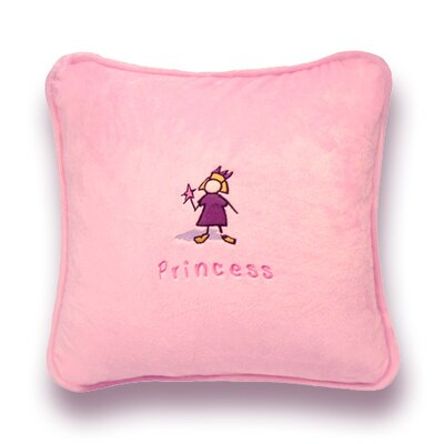 Greeson Throw Pillow Color: Pink