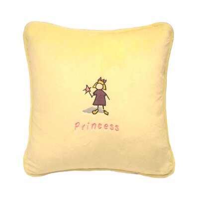 Greeson Throw Pillow Color: Yellow