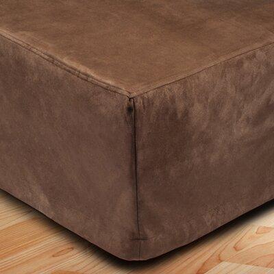 Montana Bed Skirt Color: Light Brown