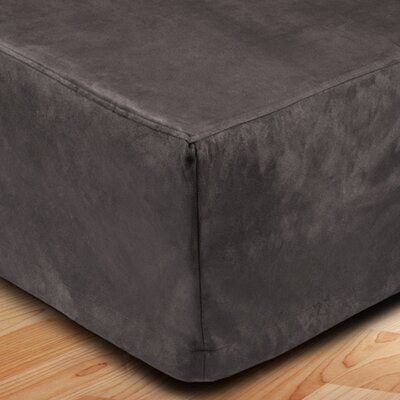 Montana Bed Skirt Color: Dark Gray