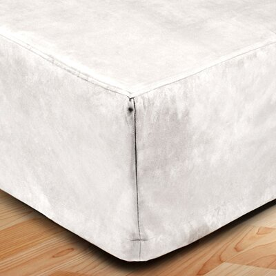 Montana Bed Skirt Color: White