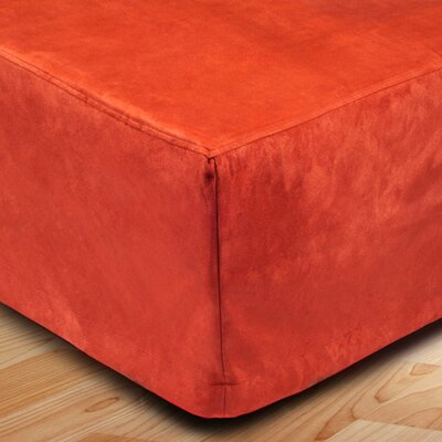 Montana Bed Skirt Color: Orange