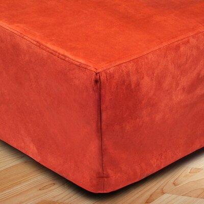 Montana Bed Skirt Color: Orange