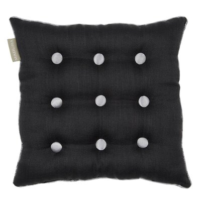 Lina Throw Pillow Color: Dark Gray/Gray