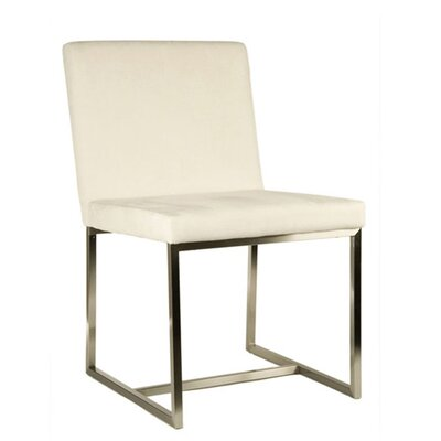 Stockholm Side Chair Color: Off White