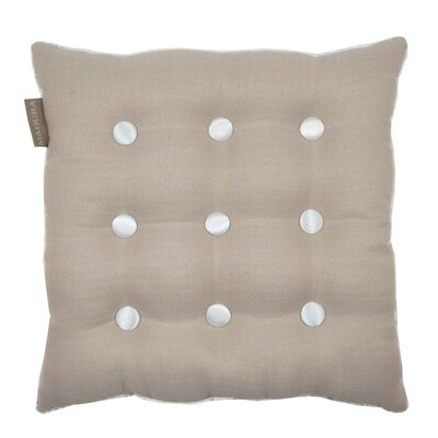 Lina Throw Pillow Color: Beige/Neutral