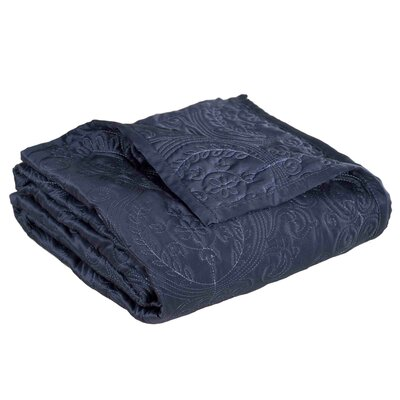 Toscana Quilt Color: Dark Blue