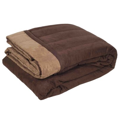 Montana Quilt Color: Brown