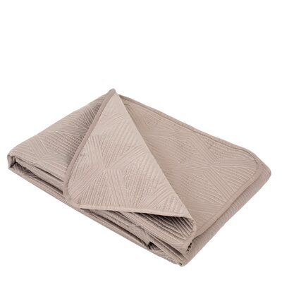 Nahua Quilt Color: Beige
