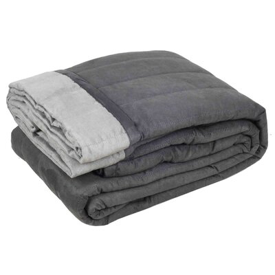 Montana Quilt Color: Dark Gray