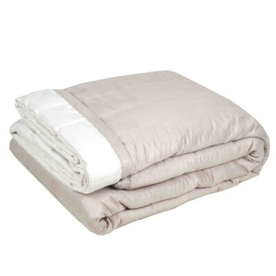 Montana Quilt Color: Off White