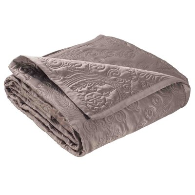 Toscana Quilt Color: Light Gray