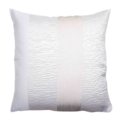 Bellagio Pillow Cover Color: White