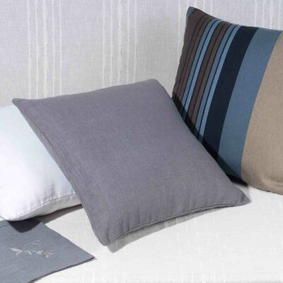 Bellevue Pillow Cover Color: Dark Gray