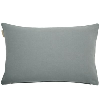 Amish Pillow Cover Color: Pale Gray