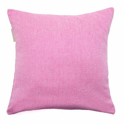 Campana Pillow Cover Color: Deep Pink