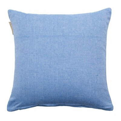 Campana Pillow Cover Color: Denim
