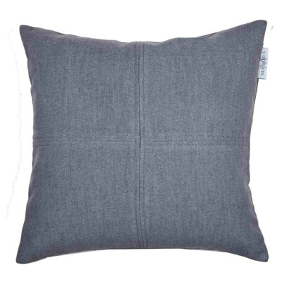 Alpina Pillow Cover Size: 15.6 H x 15.75 W x 0.39 D, Color: Dark Gray