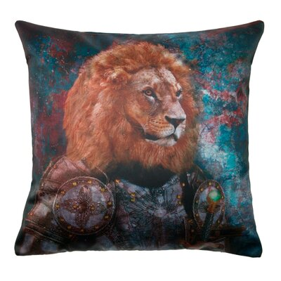 Antique Lion Pillow Cover