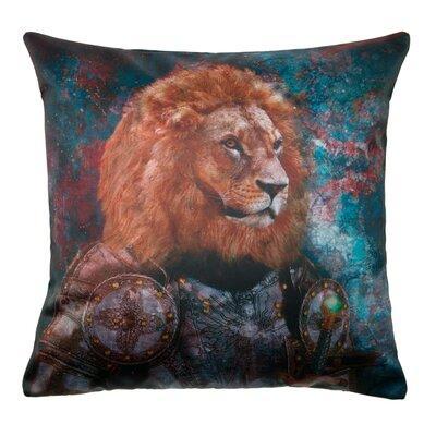 Antique Lion Pillow Cover