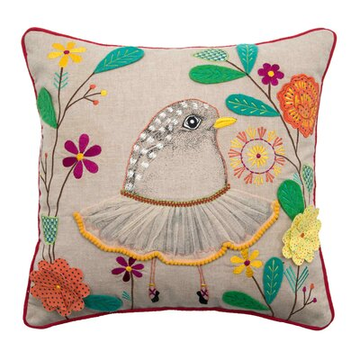 Ballerina Pillow Cover