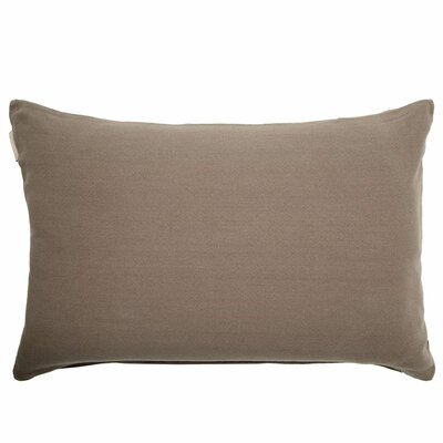 Amish Pillow Cover Color: Taupe