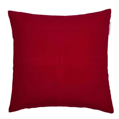 Alpina Pillow Cover Color: Natural, Size: 23.4 H x 23.62 W x 0.39 D