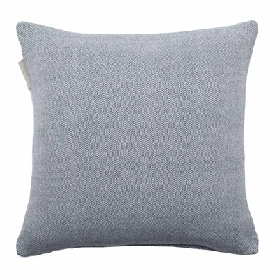 Chambray Pillow Cover Size: 23.4 H x 23.62 W x 0.39 D, Color: Gray