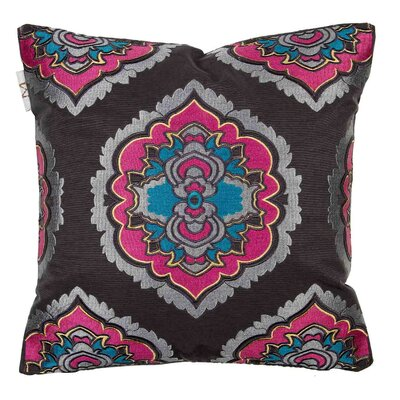 Bali Pillow Cover Color: Red/Blue
