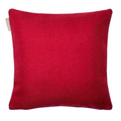Coconut Pillow Cover Color: Bright Red