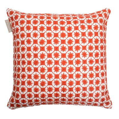 Coimbra Pillow Cover Color: Brick