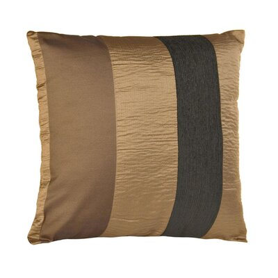 Bellagio Pillow Cover Color: Dark Brown